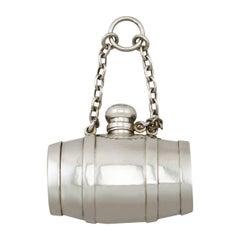 Antique Victorian Sterling Silver Combination Scent Bottle/Pill Box /Vinaigrette