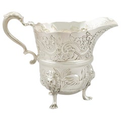 Antique Victorian Sterling Silver Cream Jug