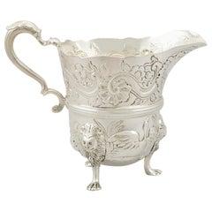 Antique Victorian Sterling Silver Cream Jug