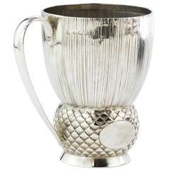 Antique Victorian Sterling Silver Goblet, Goldsmiths & Silversmiths Co