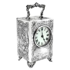Victorian Carriage Clocks and Travel Clocks