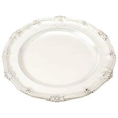 Antique Victorian Sterling Silver Plate by Robert Garrard II