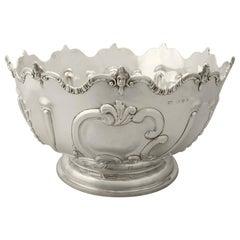 Antique Victorian Sterling Silver Presentation Bowl