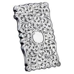 Antique Victorian Sterling Silver Vesta