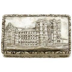 Antique Victorian Sterling Silver Vinaigrette 1842