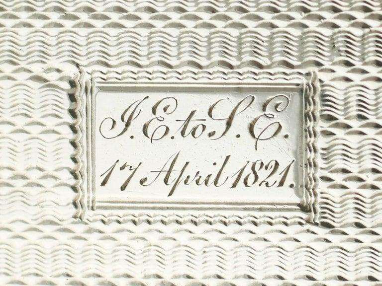 Antique Victorian Sterling Silver Vinaigrette For Sale 3