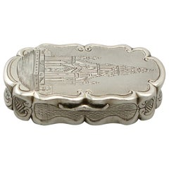Antique Victorian Sterling Silver Vinaigrette
