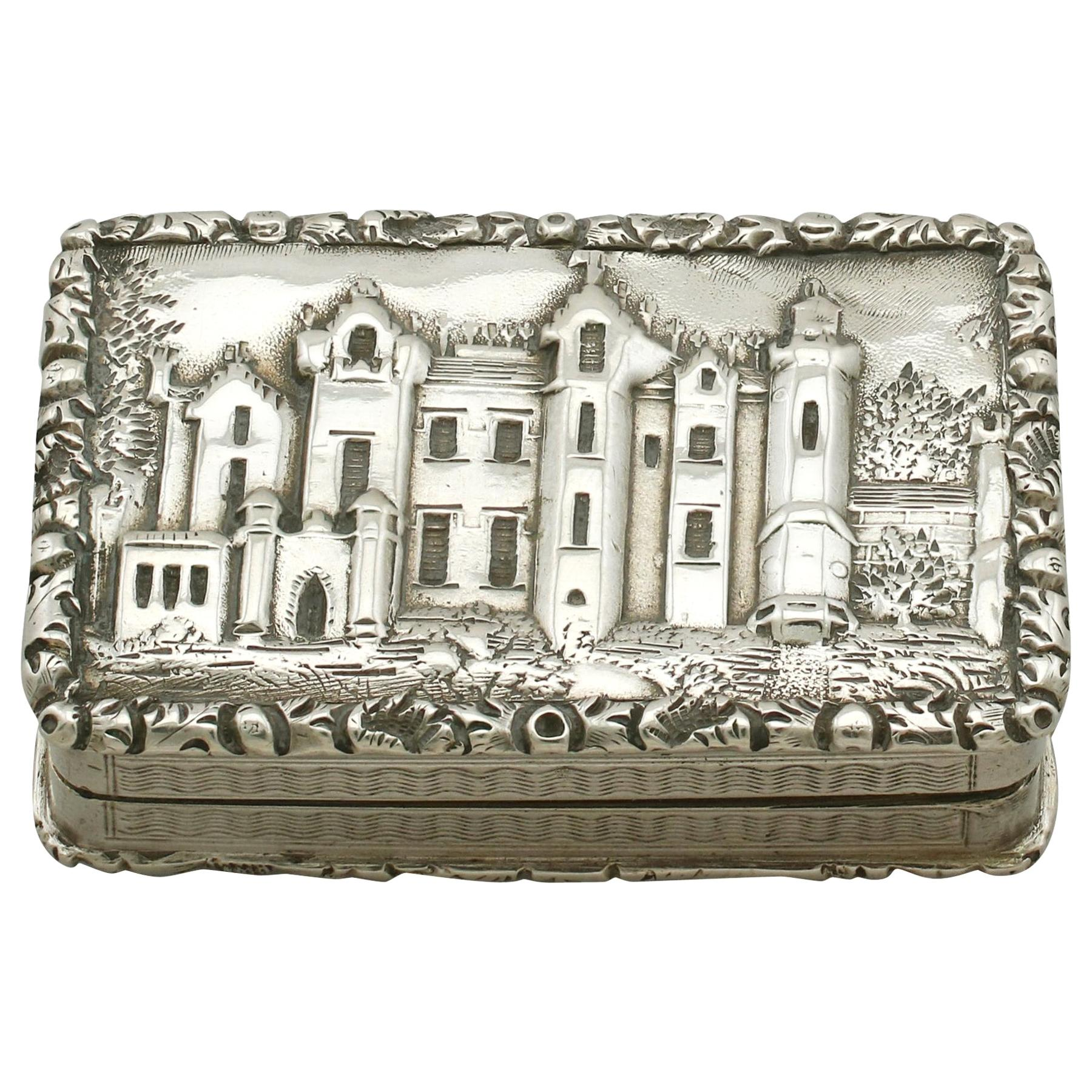 Antique Victorian Sterling Silver Vinaigrette