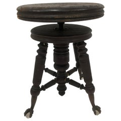Antique Victorian Swivel Stool