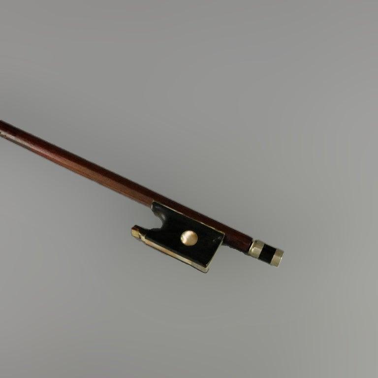 Antique Victorian Tiger Maple Violin and Case, Salvatore Durro, 19th Century For Sale 2