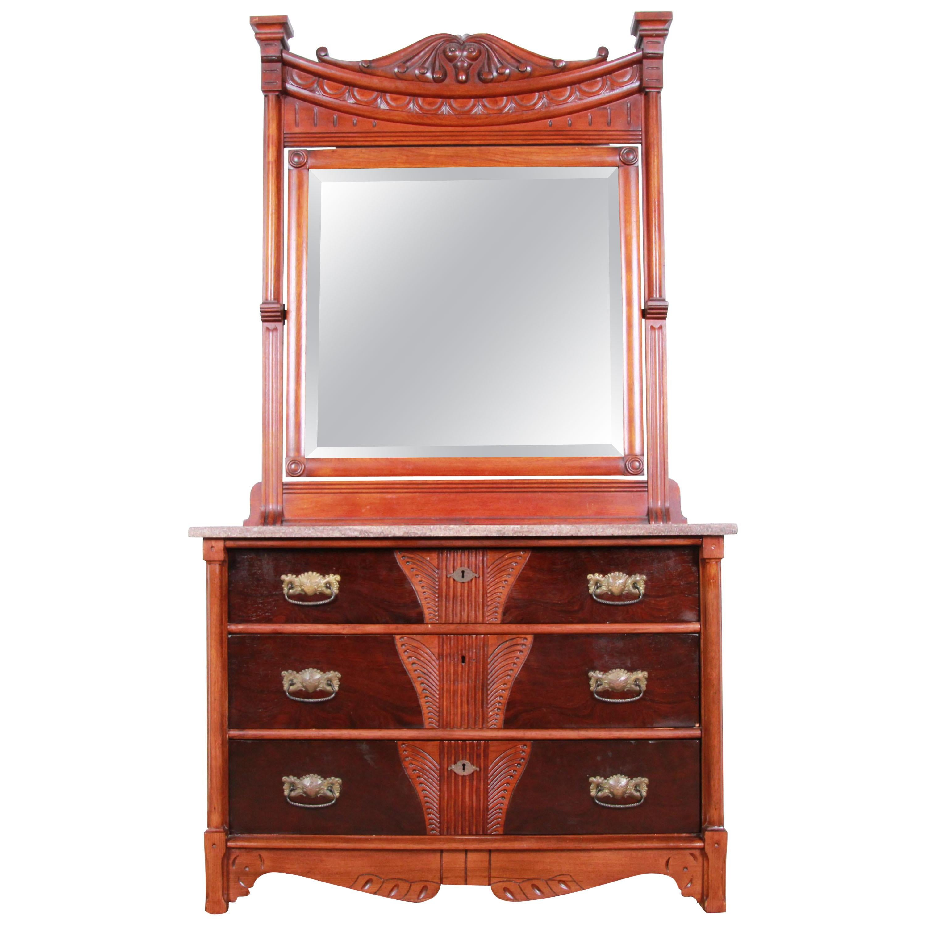 Dressers With Mirrors - 290 For Sale on 1stdibs