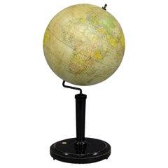 Antique Vienna Earth Globe by G. Freytag & Berndt, circa 1920