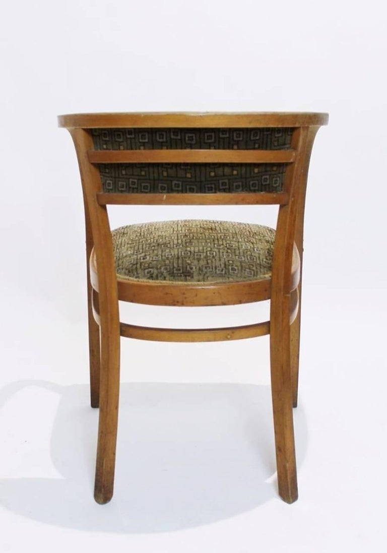 Antique Viennese Secessionist Bentwood Armchair by Otto Wagner for Thonet For Sale 2