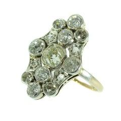 Antique Vintage Art Deco Diamond Engagement Ring, Belle Epoque