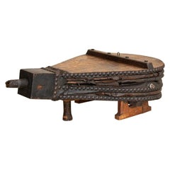 Antique Vintage Bellows Industrial Coffee Table, Denmark