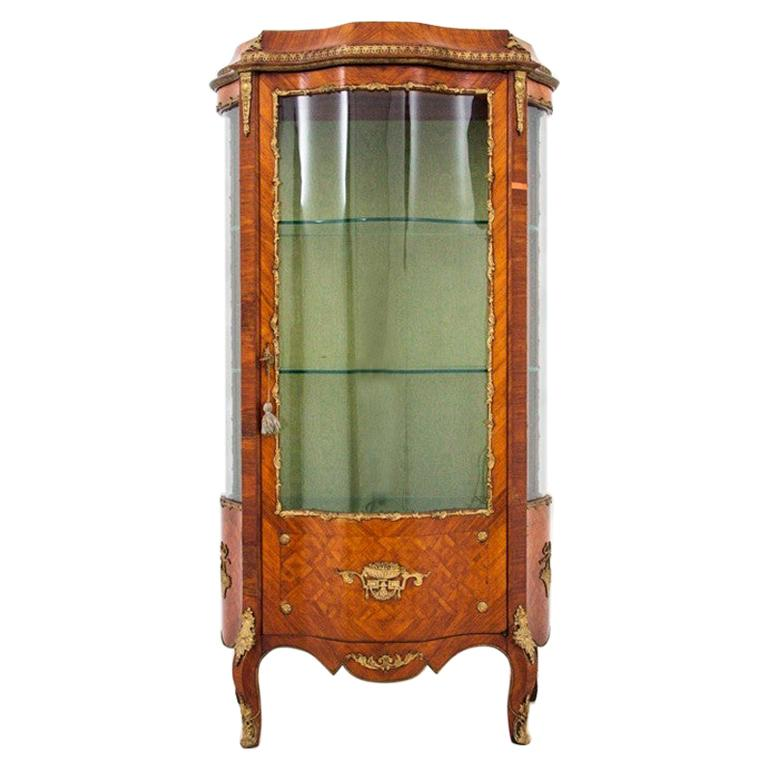 Antique Vitrine from 1890s, France