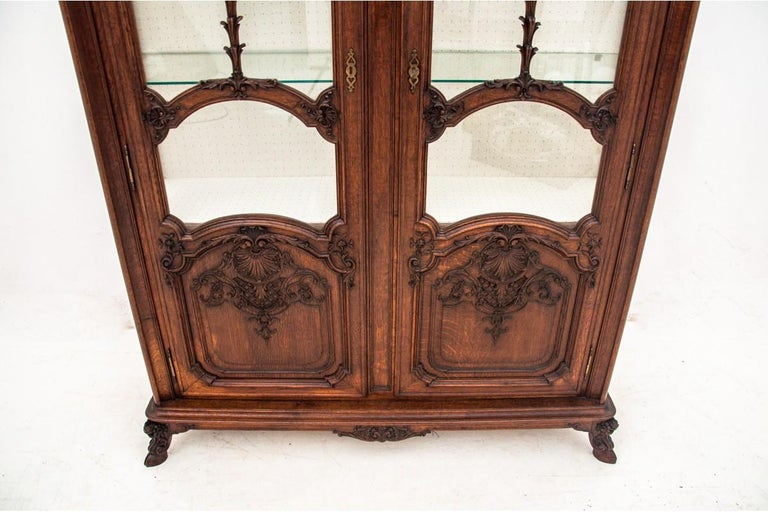 Louis Philippe Antique Vitrine from 1900s, France For Sale