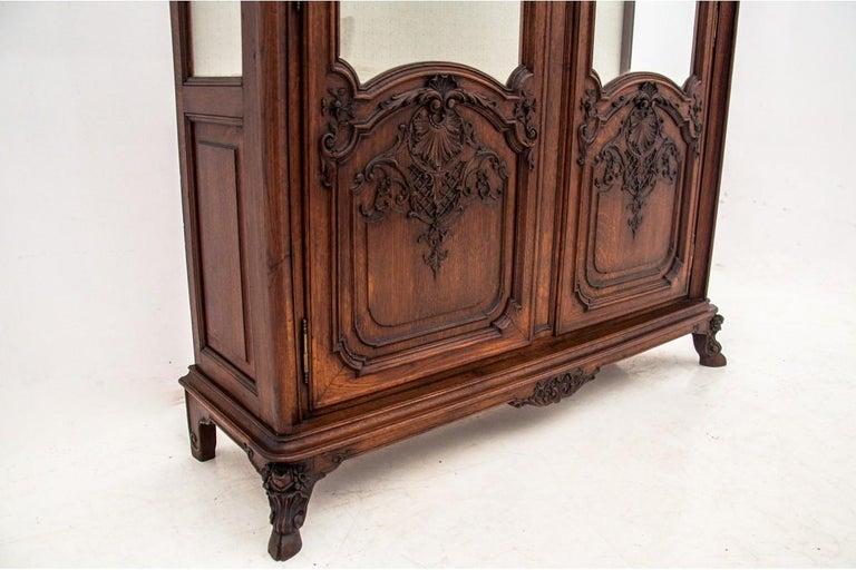 Oak Antique Vitrine from 1900s, France For Sale