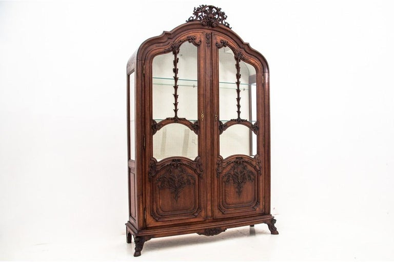 Antique Vitrine from 1900s, France For Sale 2