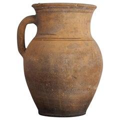 Antique Wabi Sabi Natural Clay Pot