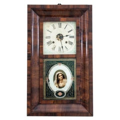 Antique Wall Clock, Ansonia Clock Co.