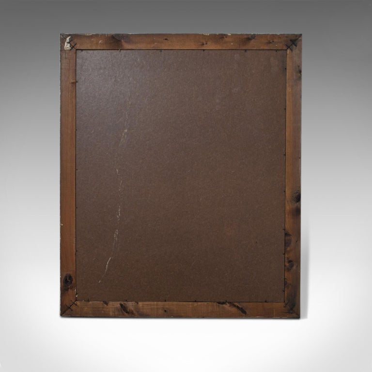 Antique Wall Mirror, English, Victorian, Pitch Pine, Late 19th Century C.188018 For Sale 2