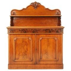Antique Walnut Chiffonier, Walnut Sideboard, Victorian, Scotland 1870, B1597