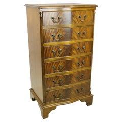 Antique Walnut Dresser, Vintage Lingerie Chest, Antique Furniture, 1940 REDUCED