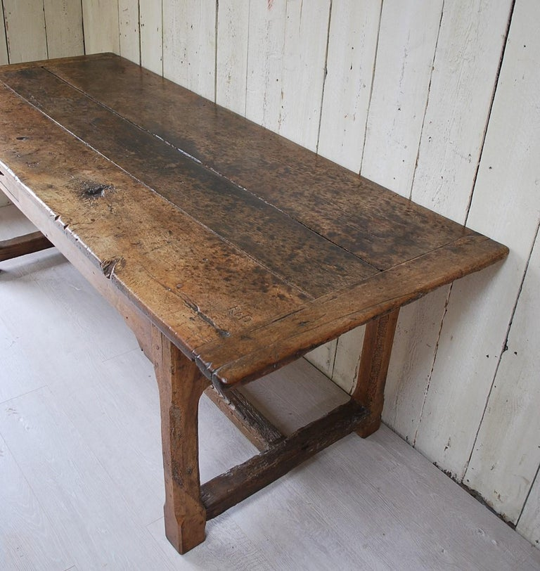 Antique Walnut Farmhouse Kitchen Table