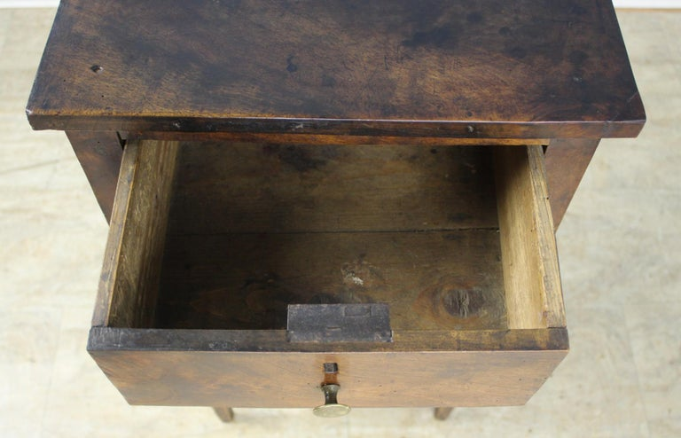 Antique Walnut Side Table For Sale 6
