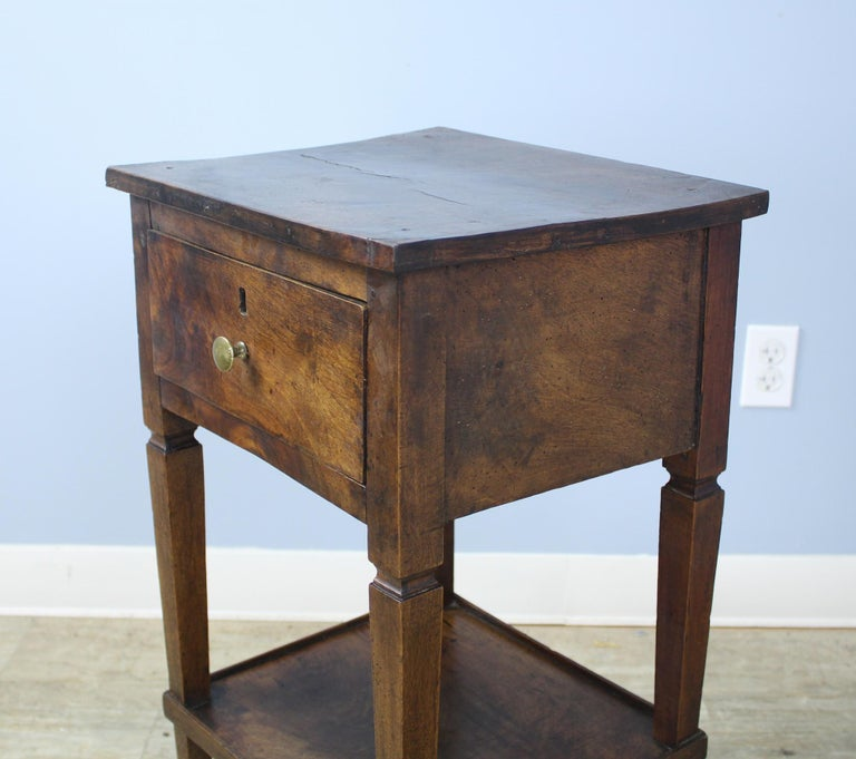 Antique Walnut Side Table For Sale 1