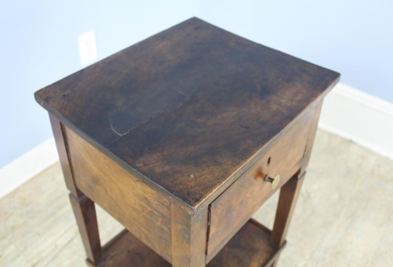 Antique Walnut Side Table For Sale 3