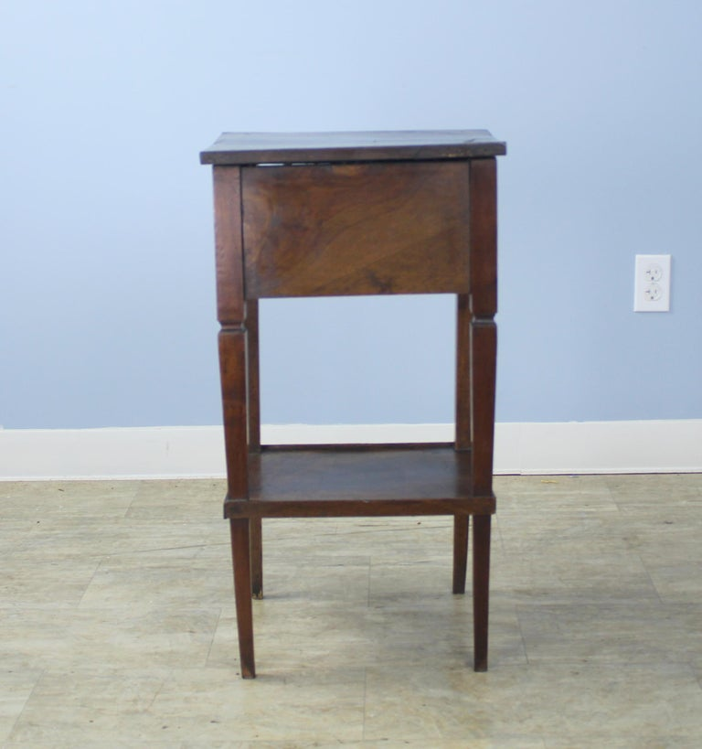 Antique Walnut Side Table For Sale 4