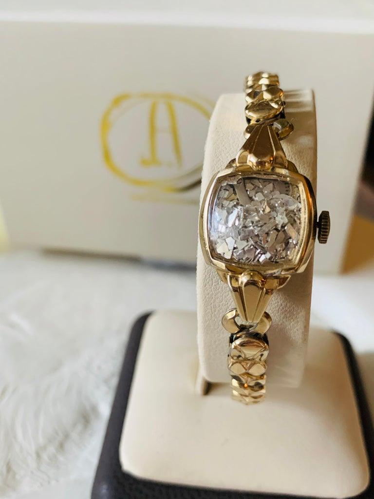 Art Deco Antique Watch Talisman Bracelet For Sale