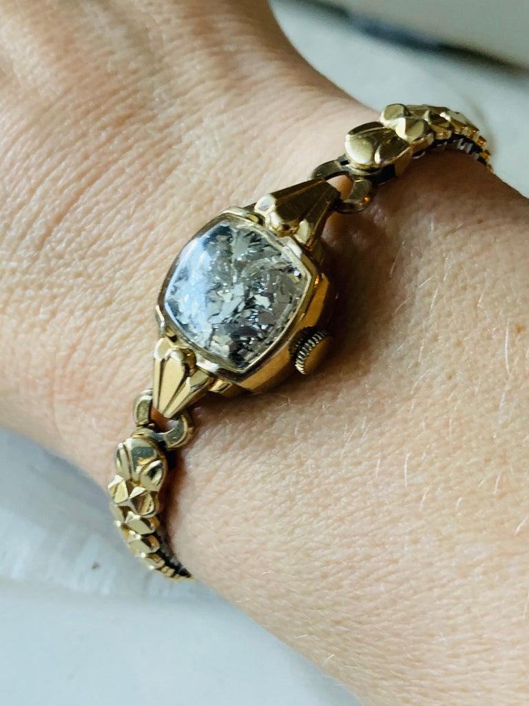Women's Antique Watch Talisman Bracelet For Sale