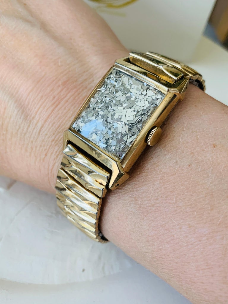 Women's or Men's Antique Watch Talisman Bracelet Unisex  For Sale