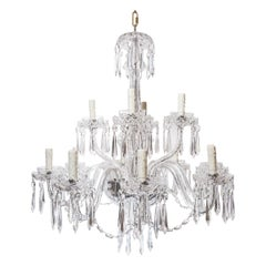 Antique Waterford Crystal Chandelier
