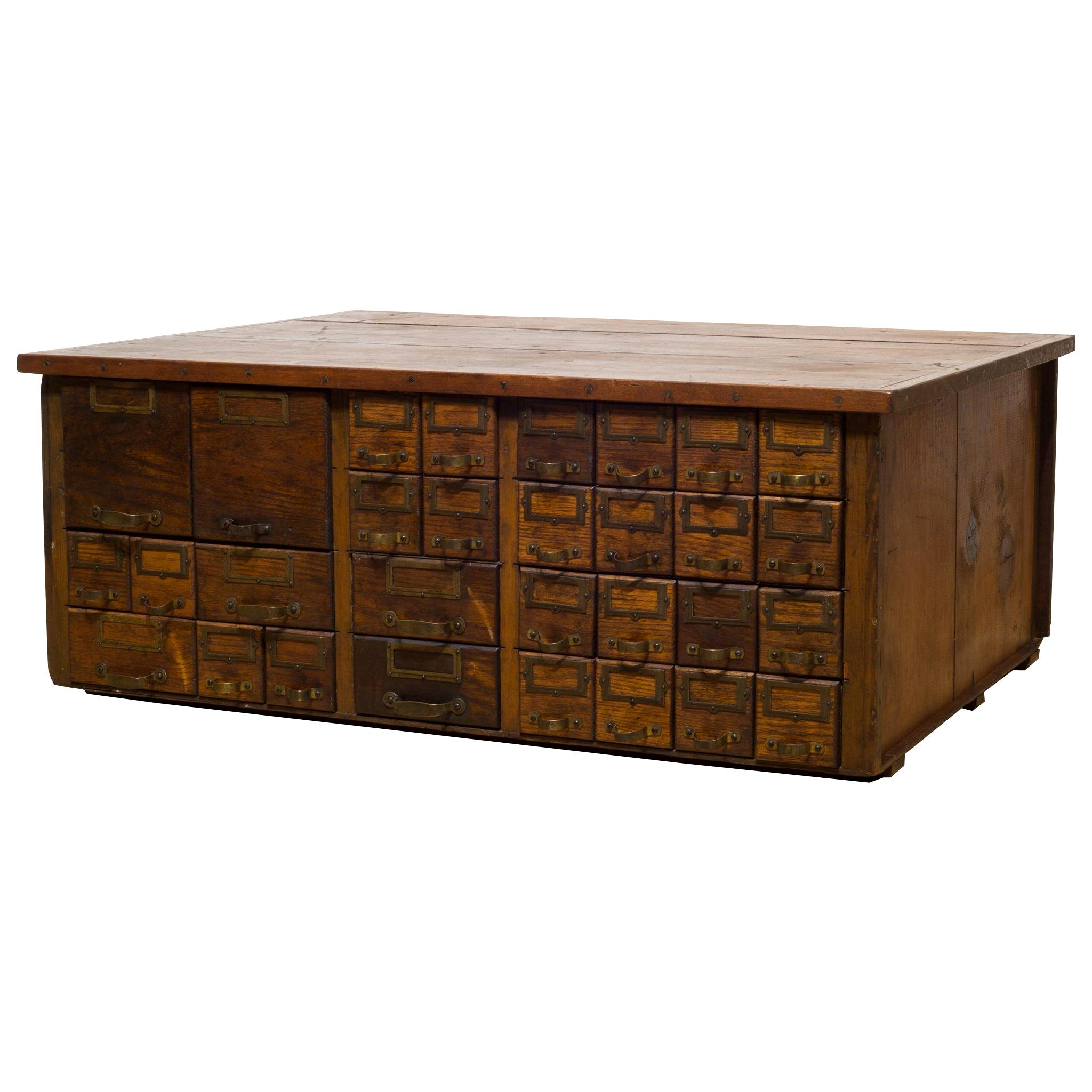 Antique And Vintage Apothecary Cabinets   275 For Sale At ...