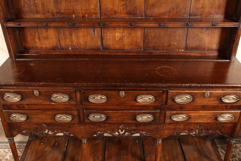 Walnut Antique Welsh Cupboard, circa 1750 For Sale