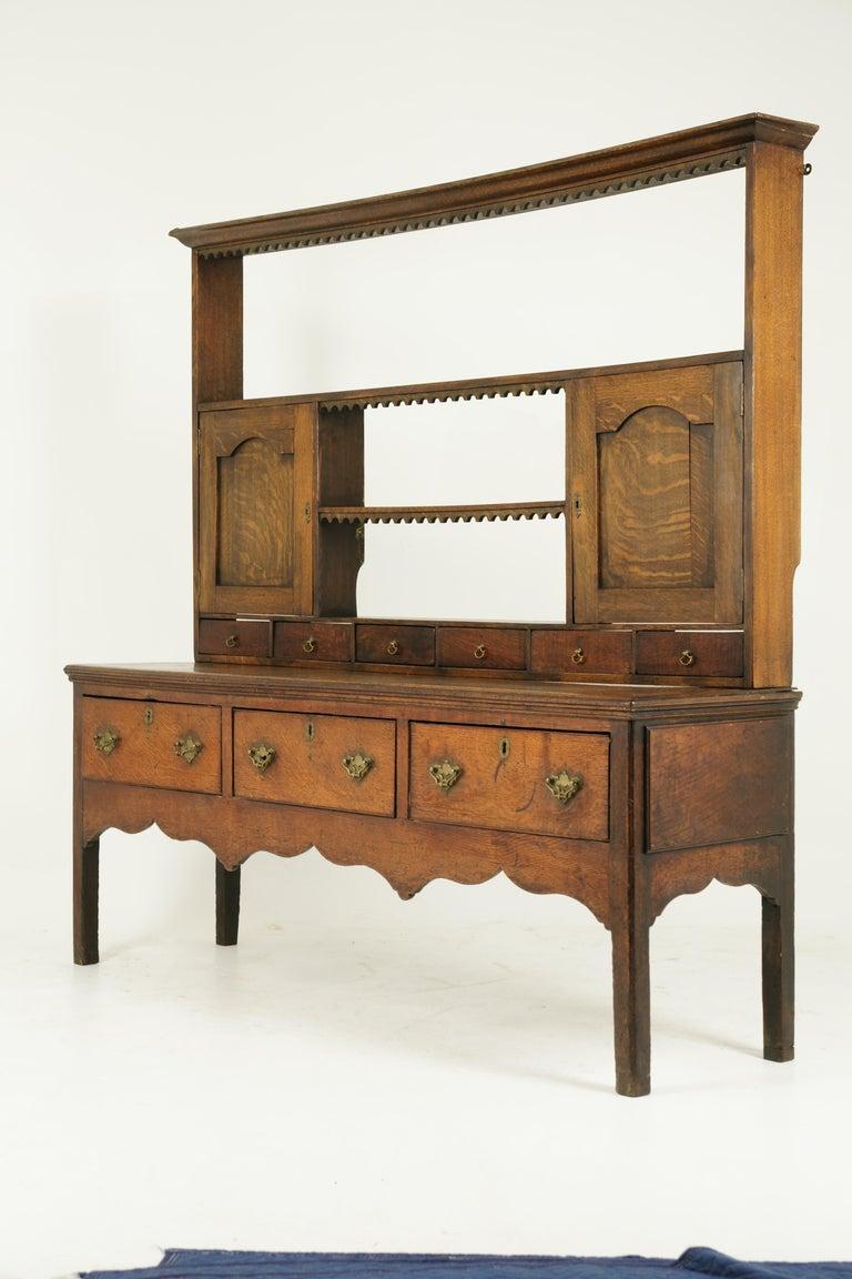 Antique Welsh Dresser, Antique Sideboard, Farmhouse Chic, England 1790, B1578 2