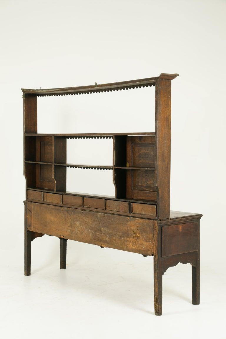 Antique Welsh Dresser, Antique Sideboard, Farmhouse Chic, England 1790, B1578 3
