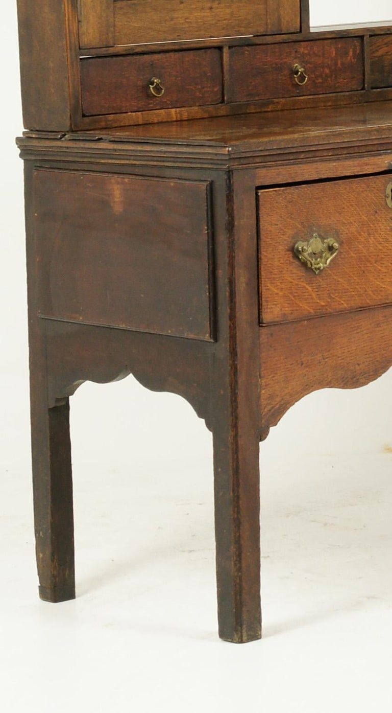 Hand-Crafted Antique Welsh Dresser, Antique Sideboard, Farmhouse Chic, England 1790, B1578
