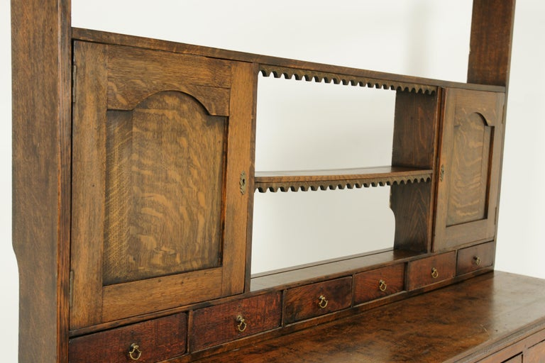 Late 18th Century Antique Welsh Dresser, Antique Sideboard, Farmhouse Chic, England 1790, B1578