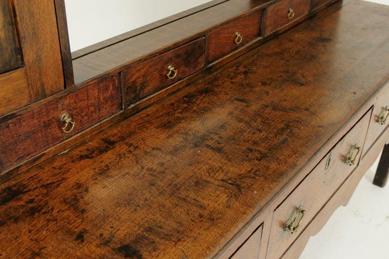 Antique Welsh Dresser, Antique Sideboard, Farmhouse Chic, England 1790, B1578 1