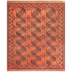 Antique West Turkestan Yamout Rug