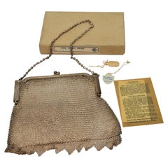 Antique Whiting & Davis Mesh Purse Bag