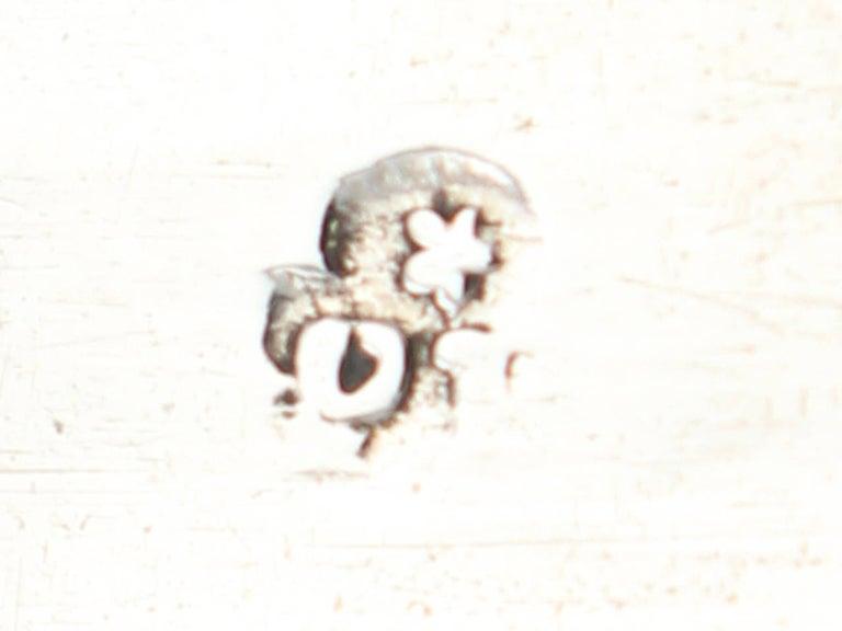 1600s Antique William III Britannia Standard Silver Cup and Cover 3