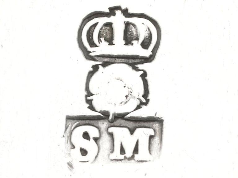 Antique William III Britannia Standard Silver Quart Tankard For Sale 4