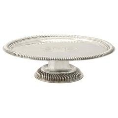 Antique William III Britannia Standard Silver Tazza/Centrepiece