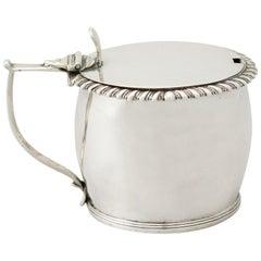 Antique William IV Irish Sterling Silver Mustard Pot, 1832